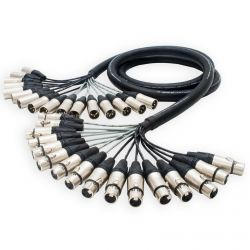 Sommer Mistral 16 way Multicore Loom Stage Snake. Balanced Female to Male XLR