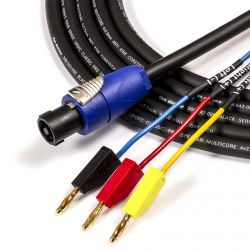 Naim Amp to REL Subwoofer Cable. High-Level Input Lead