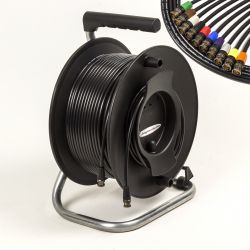 Van Damme 1080p HDTV, 3G, SDI Flexible Video Coax Cable Reel. Neutrik BNC