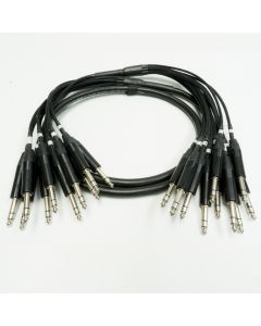 2m Tourgrade Multicore. 10 Way Neutrik TRS to TRS. Sommer Transfer Cable. 30cm tails