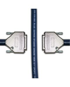 25 Pin D Sub to 25 Pin D Sub Cable. Serial Db 25 Van Damme Multicore Loom Lead