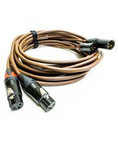 Belden 8402 Gold XLR to XLR Cable. Audiophile Neutrik Balanced Interconnect Lead
