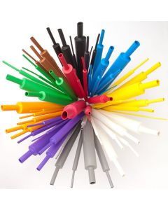 Techflex Shrinkflex H3N 3:1 Heatshrink. Coloured Shrinktube. 12.7mm Unshrunk Diameter