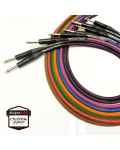 'designacable Custom Shop' Premium Braided Guitar Cable, Van Damme & Neutrik.