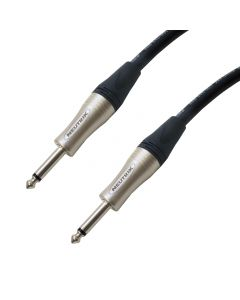 Tour Grade Jack to Jack Speaker Lead. Van Damme Mono Cable. Amp / Head to Cab. (2x4mm Conductors, High Power)