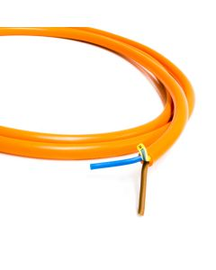 Orange Flexible Mains Cable  3 Core Outdoor Garden Flex