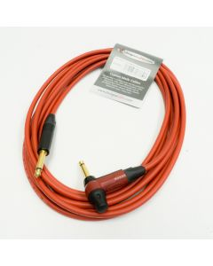 5m Red Neutrik Timbre Lead. Van Damme Guitar Cable, with EQ