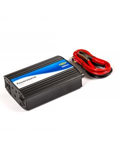 Ring Power Inverter. 12v to 230v. Battery-Connect. Single Socket Outlet & USB. 500w MAX