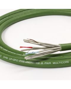 Van Damme Green Series Digi Grade 8 pair AES/EBU multicore Cable. 110ohm Impedance