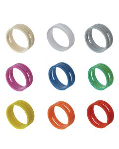 Neutrik Coloured XLR Rings. XX Series XXR Marking